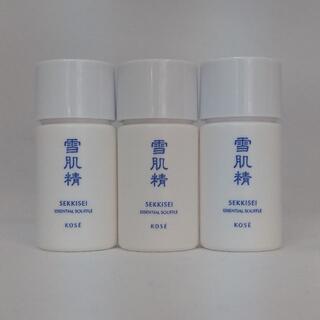 セッキセイ(雪肌精)の乳液3本 Fサンプルセット コーセー雪肌精(乳液/ミルク)
