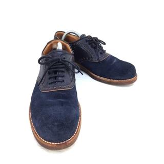 パドローネ(PADRONE)のPADRONE(パドローネ) スエードウィングチップレザーシューズ メンズ 革靴(ドレス/ビジネス)