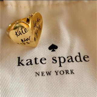 ケイトスペードニューヨーク(kate spade new york)のケイトスペード ヘリテージスペード ハートリング(リング(指輪))