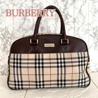 BURBERRY - バーバリー ミニボストンバッグ ノバチェック