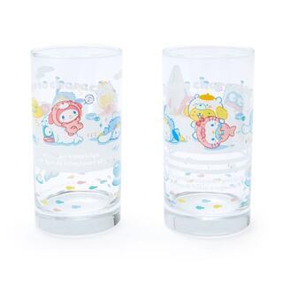 サンリオ(サンリオ)のサンリオキャラクターズ 氷フレンズ グラスセット コップ キティ マイメロディ(グラス/カップ)