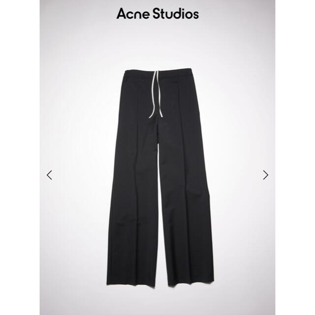 ACNE(アクネ)の【新品未使用】Acne Studios ウールブレンドトラウザーズ レディースのパンツ(カジュアルパンツ)の商品写真