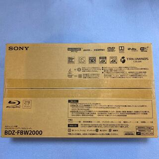 SONY - SONY ブルーレイレコーダー BDZ-FBW2000