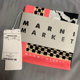 マルニ(Marni)の【新品タグ付き】MARNI バンダナ スカーフ(バンダナ/スカーフ)