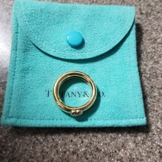 ティファニー(Tiffany & Co.)のティファニー ゴールドリング 750(リング(指輪))