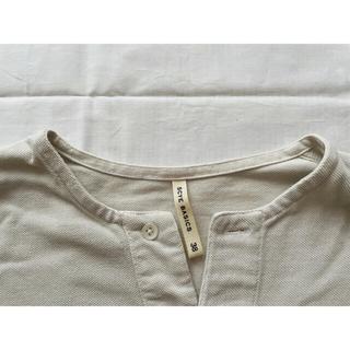 Scye - Scye 鹿子ポロTシャツ ライトグレー 【1回使用】Onkul vol.11