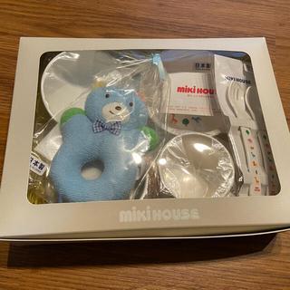 ミキハウス(mikihouse)の【mmm様専用】ミキハウス ベビー食器セット(離乳食器セット)