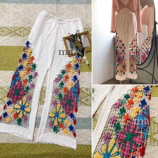 EDIT.FOR LULU - 70s vintage crochet pants / itimi
