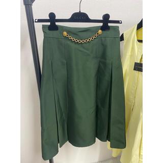 Gucci - フレアスカート グッチスカート GUCCIスーツ 膝スカート