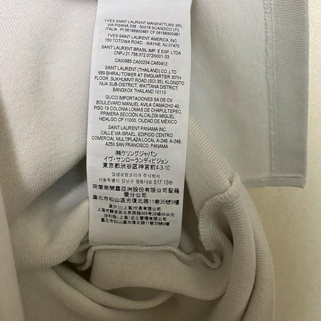 Saint Laurent(サンローラン)の登坂着用 saint laurent  YSL Tシャツ メンズのトップス(Tシャツ/カットソー(半袖/袖なし))の商品写真