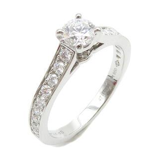 カルティエ(Cartier)のカルティエ  リング 指輪  ソリテール ハーフエタニティ   シルバー(リング(指輪))