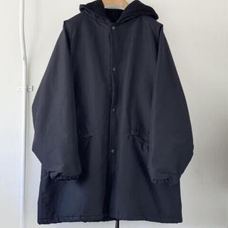 コモリ(COMOLI)の【極美品】20AW COMOLI cotton silk hooded coat(モッズコート)