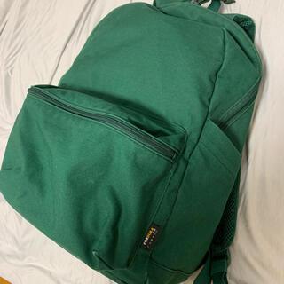 ユニクロ(UNIQLO)のユニクロ 無地緑リュック (バッグパック/リュック)
