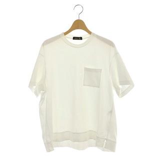 ドゥロワー(Drawer)のドゥロワー コットン天竺ポケットTEEシャツ Tシャツ カットソー 半袖(その他)
