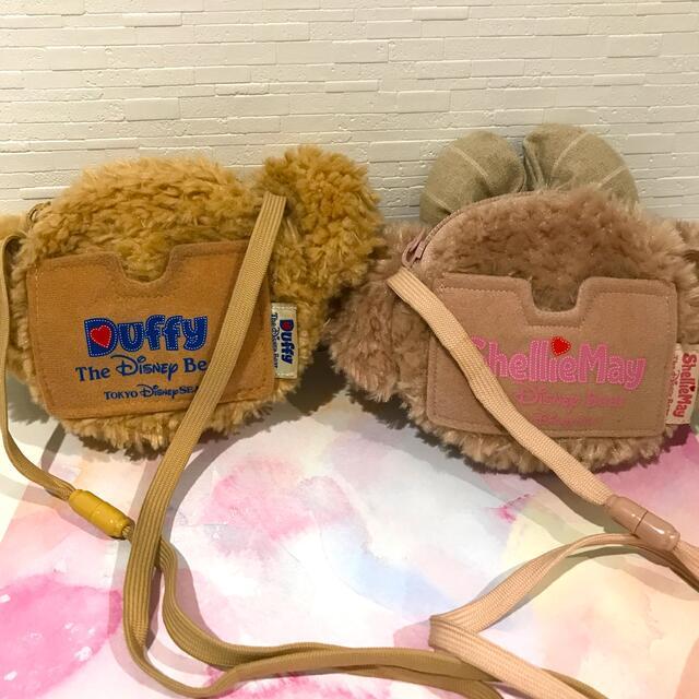 ダッフィー(ダッフィー)のダッフィー シェリーメイ パスケース レディースのファッション小物(パスケース/IDカードホルダー)の商品写真