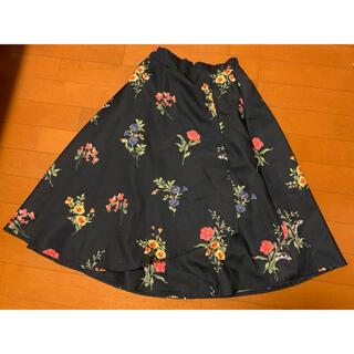 トッコ(tocco)のtocco closet  花柄スカート(ひざ丈スカート)