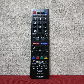 アクオス(AQUOS)のSHARP AQUOSテレビ専用 リモコン(その他)