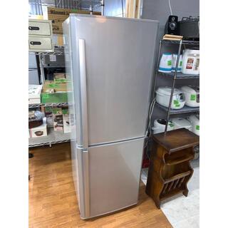 ミツビシデンキ(三菱電機)の(洗浄・検査済み)MITSUBISHI 冷蔵庫 256L 2011年製(冷蔵庫)