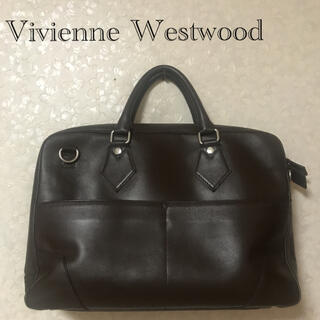 Vivienne Westwood - Vivienne Westwood ビジネスバッグ ブラウン 大容量