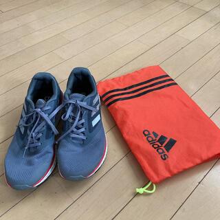 アディダス(adidas)のアディダス☆ランニングシューズ、袋付き(シューズ)