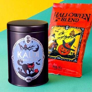 KALDI - KALDI ☆ ハロウィンブレンド&キャニスター缶セット2021