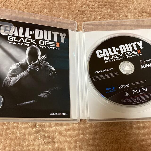 PlayStation3(プレイステーション3)のコール オブ デューティ ブラックオプスII(吹き替え版) PS3 エンタメ/ホビーのゲームソフト/ゲーム機本体(家庭用ゲームソフト)の商品写真