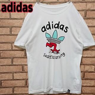 アディダス(adidas)のレア デザイン adidas skateboarding  トレフォイル ロゴ(Tシャツ/カットソー(半袖/袖なし))