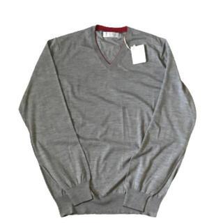 ブルネロクチネリ(BRUNELLO CUCINELLI)の未使用ブルネロクチネリ ウールカシミヤセーターサイズM(ニット/セーター)