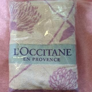 L'OCCITANE - L'OCCITANE ノベルティ  バスタオル