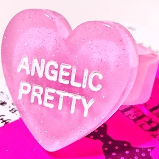 Angelic Pretty - ♡Angelic Pretty☆Happy Heartリング〈ピンク〉♡