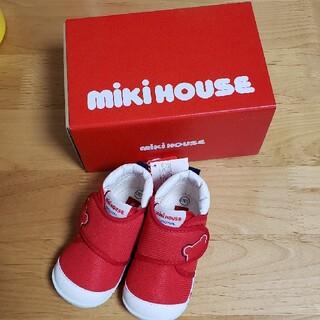 mikihouse - 新品未使用‼️ミキハウス 靴 赤 13cm
