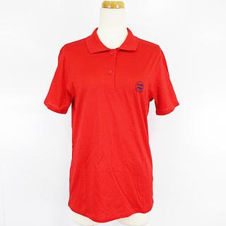 クリスチャンディオール(Christian Dior)のクリスチャンディオール SPORTS ヴィンテージ ポロシャツ 刺繍 赤 M(ポロシャツ)