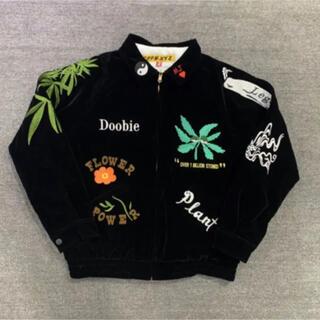 WACKO MARIA - 新品 マリファナカラフル刺繍 スーベニアジャケット ブルゾン ヴィンテージ古着