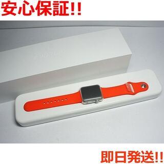 アップル(Apple)の新品 Apple Watch 38mm オレンジ (その他)