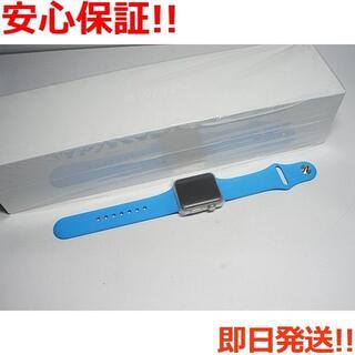 アップル(Apple)の新品 Apple Watch 38mm ブルー (その他)