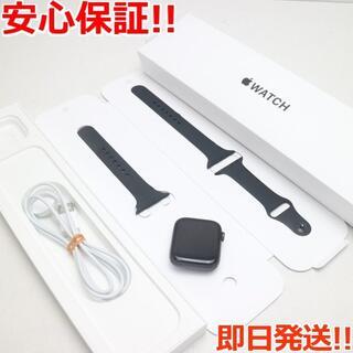 アップル(Apple)の超美品 Apple Watch SE GPS 44mm  スペースグレイ(その他)
