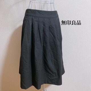 ムジルシリョウヒン(MUJI (無印良品))のウール混スカート(ひざ丈スカート)