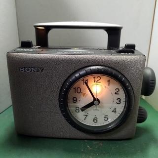 ソニー(SONY)のSONY ICF-CA5VアナログTVチューナー内蔵モデル(ラジオ)