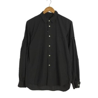 COMME des GARCONS HOMME PLUS - コムデギャルソンオムプリュス エステル シャツ バルーン 黒 Sサイズ