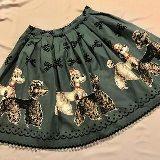 エミリーテンプルキュート(Emily Temple cute)のエミリーテンプルキュート プードルリボンスカートEmilyTemple cute(ひざ丈スカート)