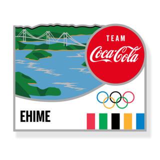 コカ・コーラ - コカコーラ 東京オリンピック ピンバッジ 都道府県 愛媛県