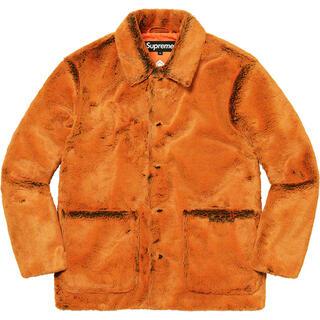 シュプリーム(Supreme)の21AW Supreme 2-Tone Faux Fur Shop Coat(その他)