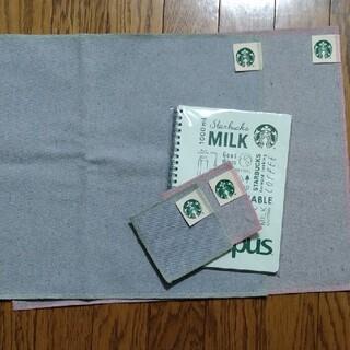 スターバックスコーヒー(Starbucks Coffee)のスターバックス ランチョンマット コースター ノート(テーブル用品)