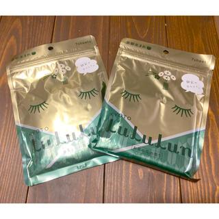 ルルルン 京都限定 お茶の花の香り 2袋セット(パック/フェイスマスク)