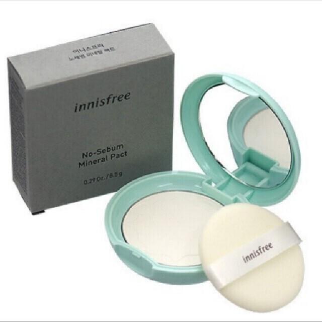 Innisfree(イニスフリー)のイニスフリー ミネラルパクト コスメ/美容のベースメイク/化粧品(フェイスパウダー)の商品写真