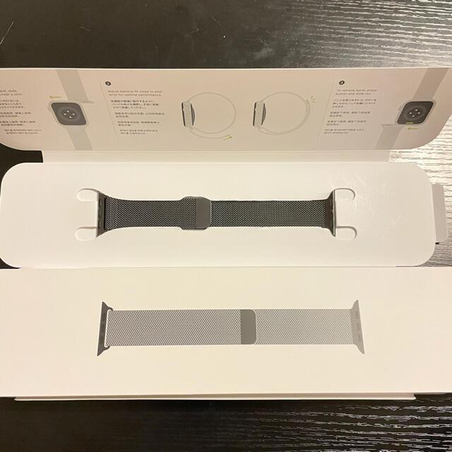 Apple Watch(アップルウォッチ)のアップルウォッチ 純正 グラファイト ミラネーゼループ Apple Watch メンズの時計(金属ベルト)の商品写真