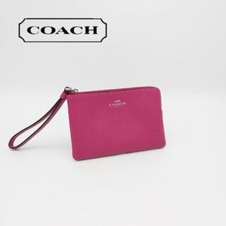 COACH - 美品 コーチ コインケース  小銭入れ リストレット フォンウォレット ポーチ