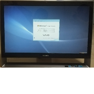 VAIO - 明日まで期間限定!ソニー パソコン モニタ一体型 デスクPC バイオ VIAO