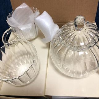 アフタヌーンティー(AfternoonTea)のAfternoon tea 耐熱グラス、ティーポット、ペアカップ(食器)