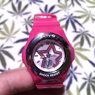 ベビージー(Baby-G)のCASIO Baby-G bga-103 ジーショック ピンク(腕時計)
